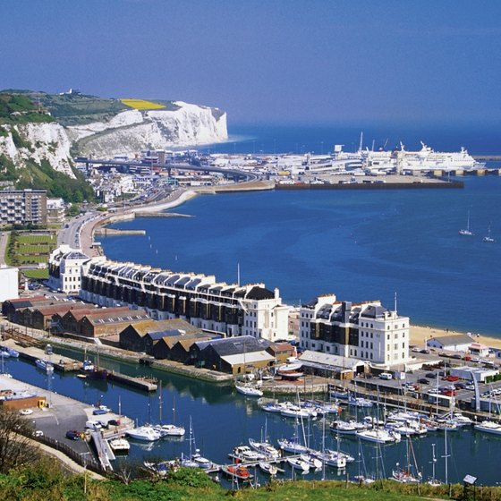 Deal hotels are just eight miles from the White Cliffs of Dover and ferries to France.
