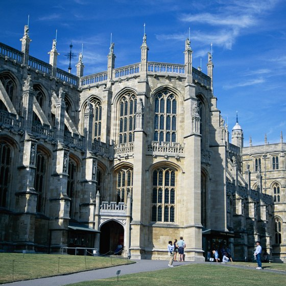 Windsor Castle is one of Britain's most famous buildings.