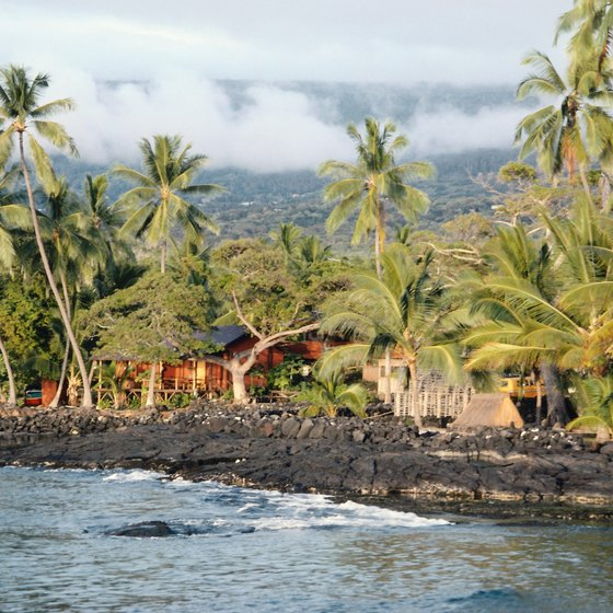Kailua-Kona is the central hub of the Kona district on the Big Island.