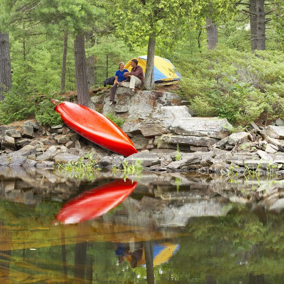 Kayak and camp along the Batsto or Mullica rivers.