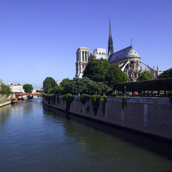 The Seine River is one of the biggest and most recognizable rivers in France.