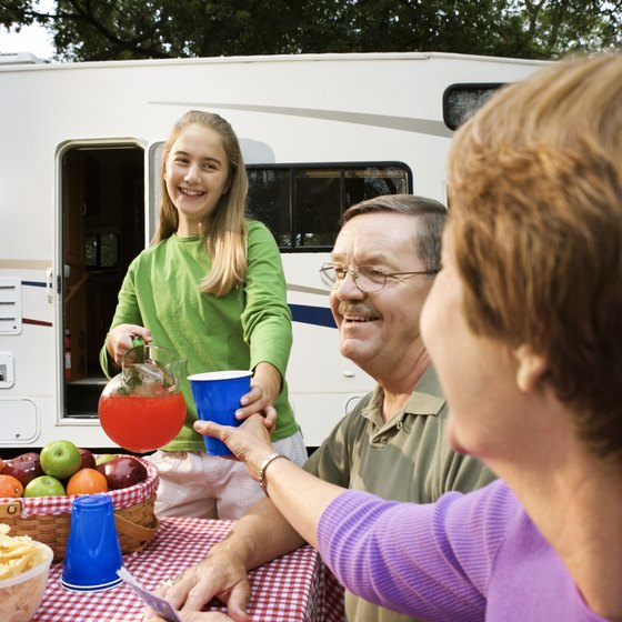 Park an RV or pitch a tent in Pasco.
