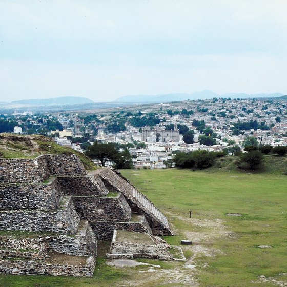 The Toltec ruins of Tula