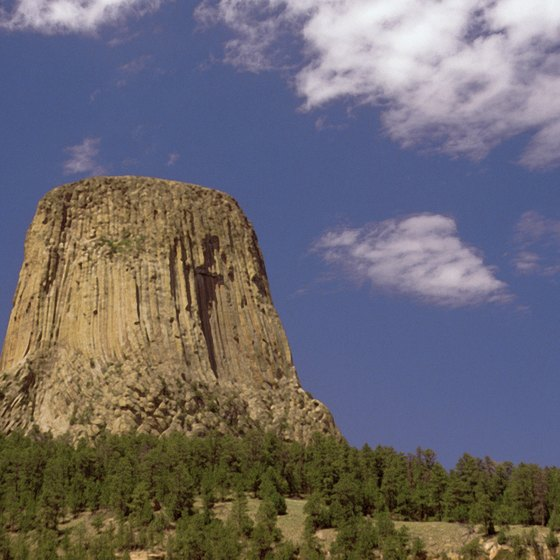 Devil's Tower National Monument is located in Wyoming.