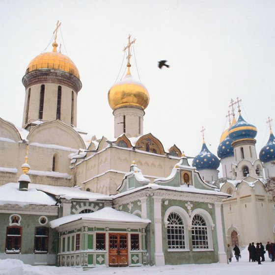 Russia's beauty shines through even in cold winters.