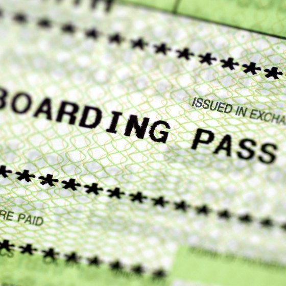 Paper boarding passes may soon become obsolete.