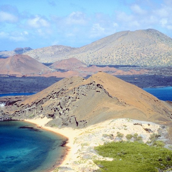 The Galapagos Islands are a volcanic achipelago in Ecuador.