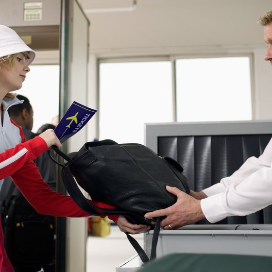 Pack your carry-on bag so you are able to get through security faster.