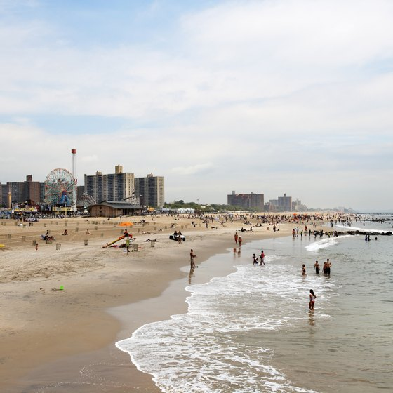 Beach Island: Coney Island Beaches