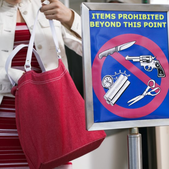If you pack prohibited items, your bag will trigger a time-consuming security screening.