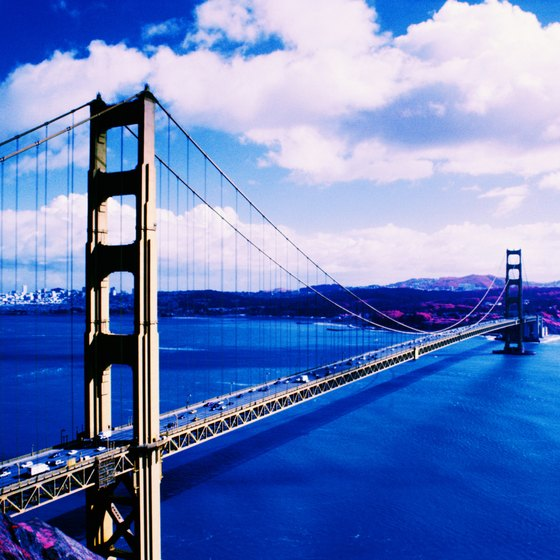 The Golden Gate Bridge is one of the nation's iconic images.