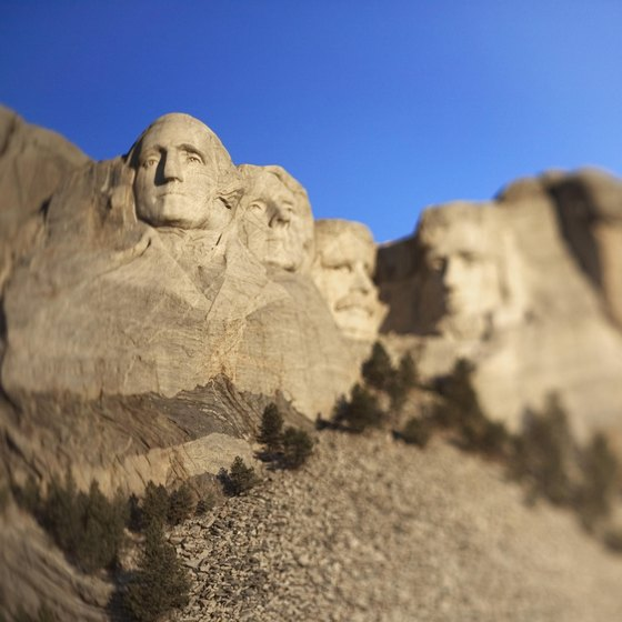 This is just the ending point. You'll experience plenty before you arrive at Mount Rushmore.