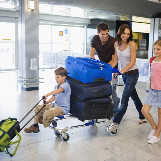 Reduce luggage hassles by dropping off your bags with an outside baggage handler.