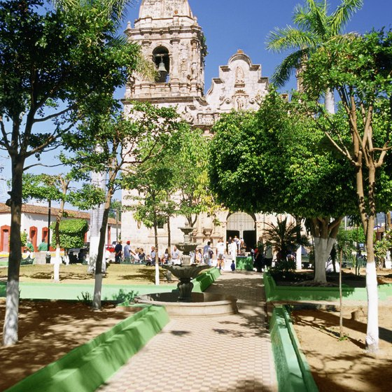 Mazatlan's colonial look makes it an inviting place for romantic walks.