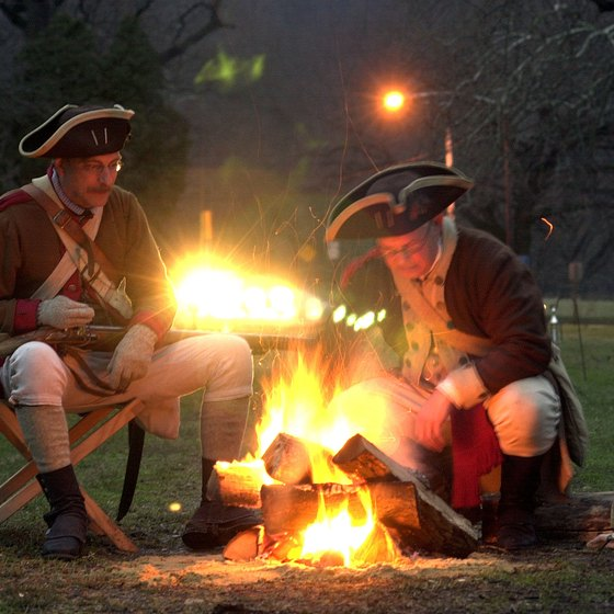 Unlike the Continental Army, you don't have to make camp at Valley Forge.