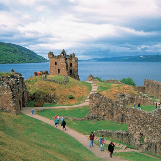 Scotland has a host of historic sights that blend seamless into the rugged landscape.