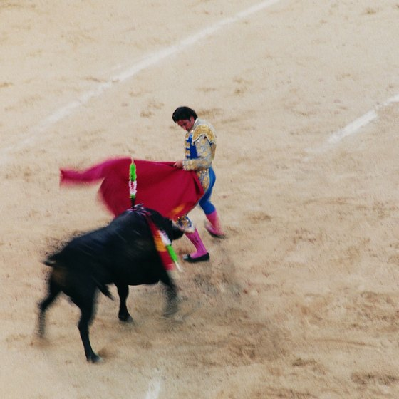 Bullfighting enjoys a rich heritage in Spain.