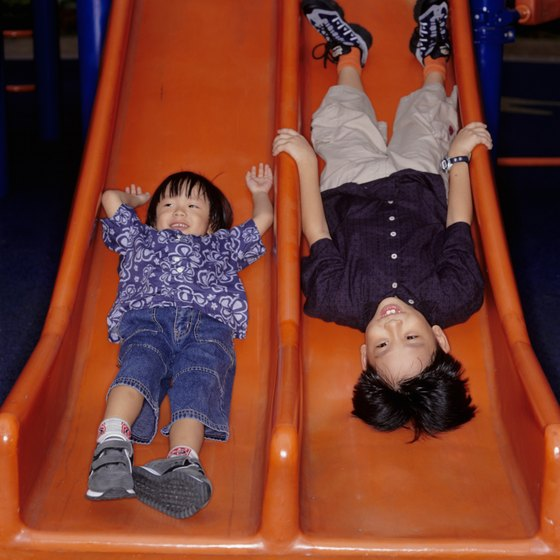 Let the kids play all day at one of Los Angeles' indoor playgrounds.