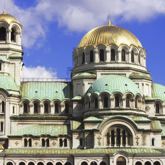 The Alexander Nevski Cathedral is a Sofia tour highlight.