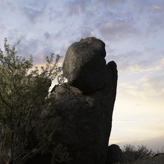 Scottsdale is home to WestWorld and natural attractions like the Jomax Boulders.