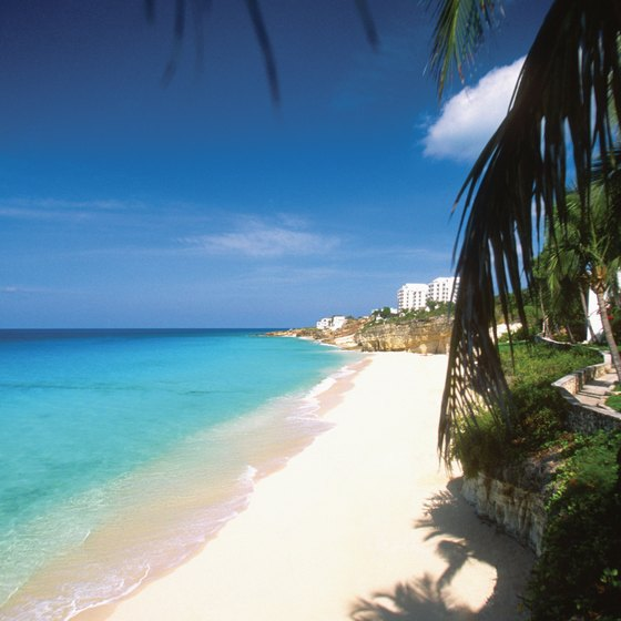 Cupecoy is just one of St. Maarten's impressive beaches.