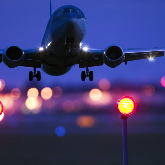 The best time for long flights may be at night.