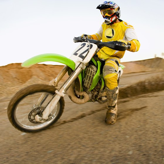 Northern California dirt bike parks range from clay excavation pits to sandy trails with steep hill climbs.