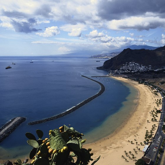 Tenerife is known for its mild climate and sandy beaches.
