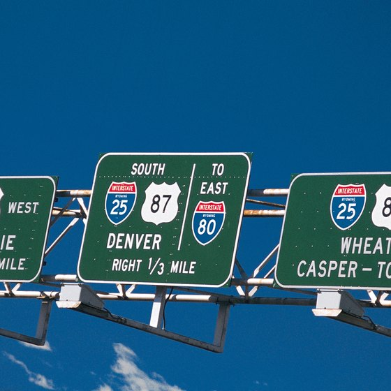 Many hotels on the west side of Denver are conveniently located off Interstate 25.