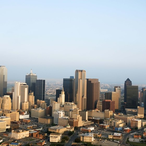 Dallas is a city where manmade fortunes have benefited the arts.