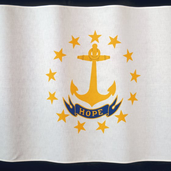 Rhode Island's nautical influence appears in cultural icons, such as the state flag.