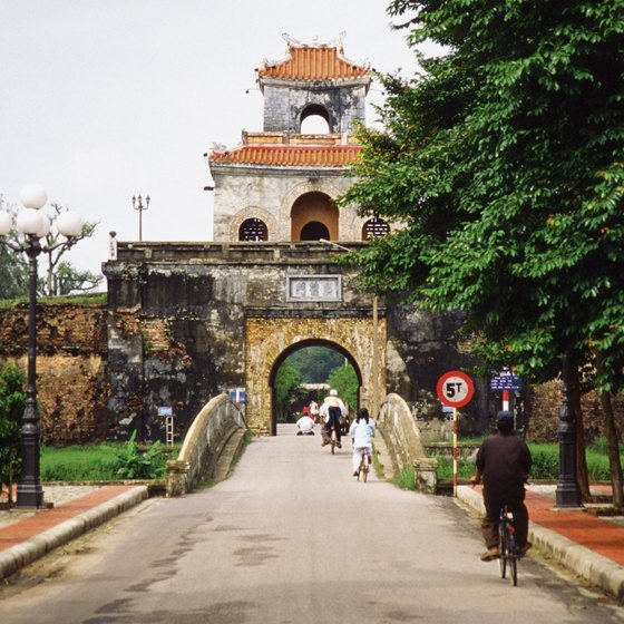 The Citadel is one of the most important attractions in Hue.