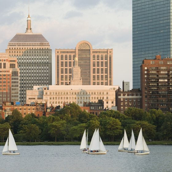 The Massachusetts Turnpike will bring you to the heart of Boston.