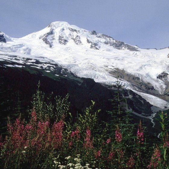 Whatcom County stretches east to 10,778-foot Mount Baker.