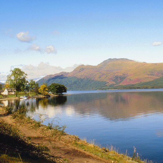 Loch Lomond is the largest freshwater loch in the United Kingdom.