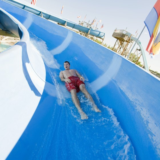 Onalaska area waterparks offer aquatic playgrounds for all ages.