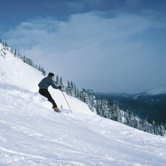Europe is a great destination for skiers.