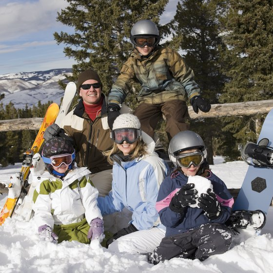At the right facility near Nashua, your kids can learn to snowboard quickly.