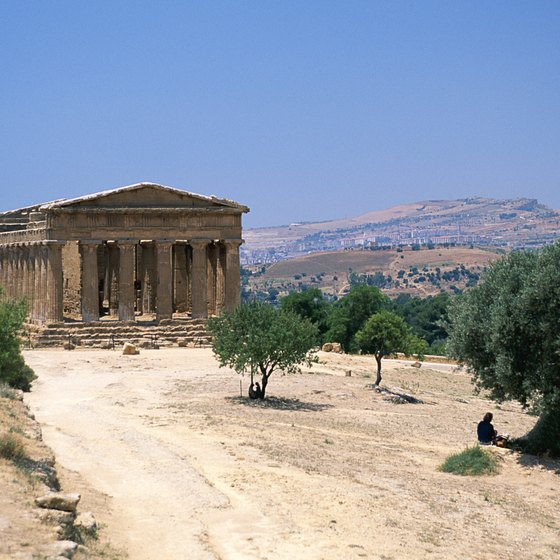 Sicily's historic buildings help explain the island's history.