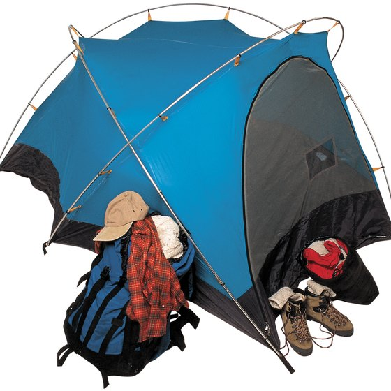 The smaller and lighter the tent, the better, when you're hiking.