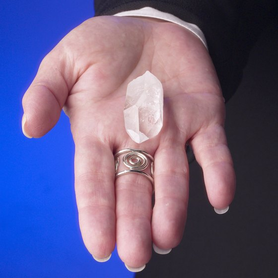 Highly prized quartz is found in Lake Ouachita.