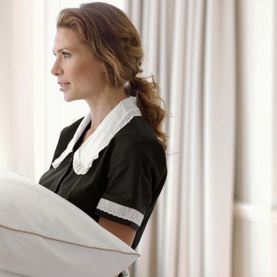Rewarding good maid service with a tip is commonplace.