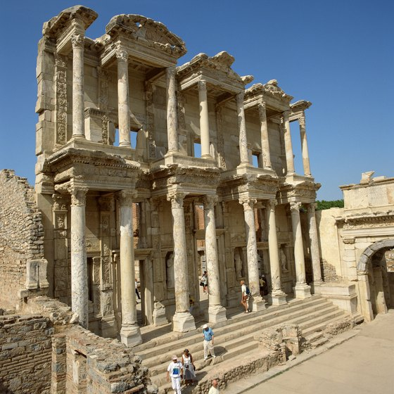 Ephesus ranks among the best preserved Roman ruins anywhere.