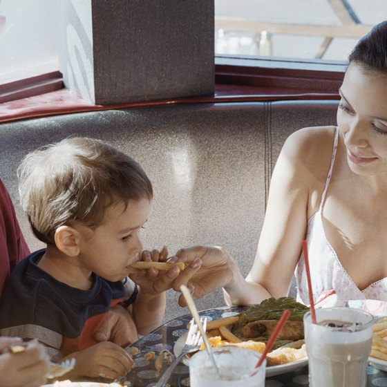 Kids can eat for free in a handful of eateries in Brandon, Florida.