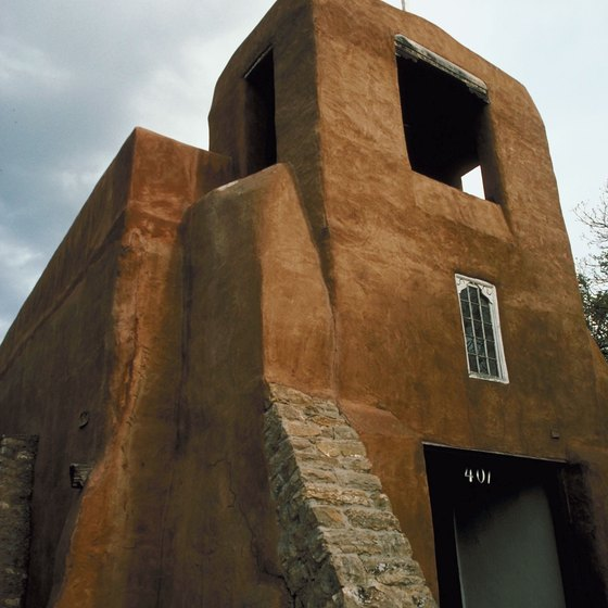Visit the mission of San Miguel while you're in Santa Fe.