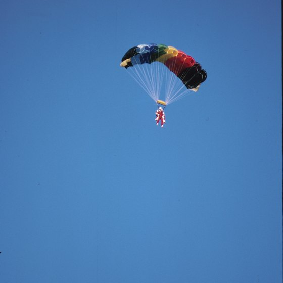 Skydiving offers a different way to see New Mexico's views.
