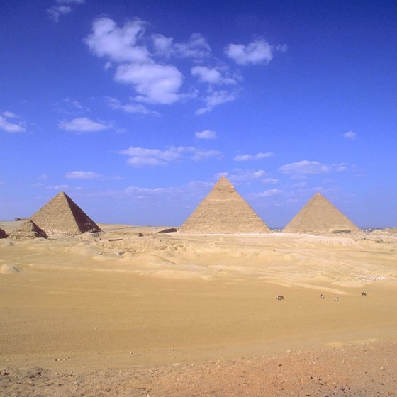 Pyramids of Egypt Today