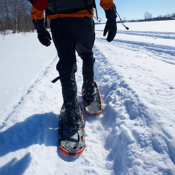 Snowshoeing is just one of the nostalgic outdoor activities in Victorian Breckenridge.