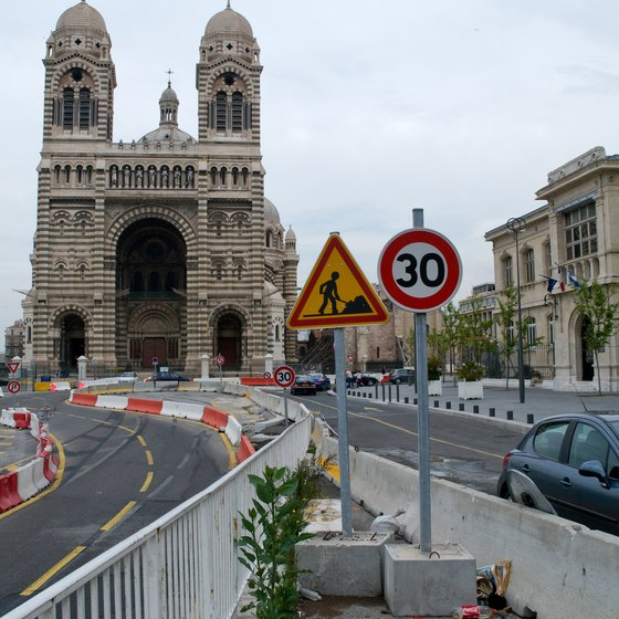 Marseille offers visitors cultural attractions and beaches.