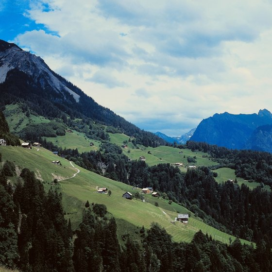 "Austrian scenes like this one recall the 1965 movie ""The Sound of Music."""